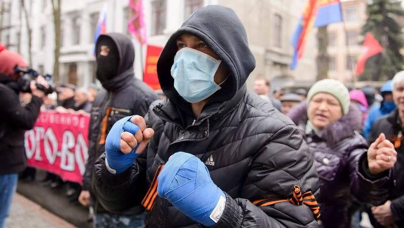 Castrillo de Matajudíos, a las urnas para cambiar el nombre.Manifestantes prorrusos
