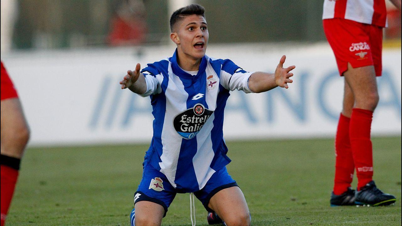 Michu durante su presentación como jugador del Real Oviedo