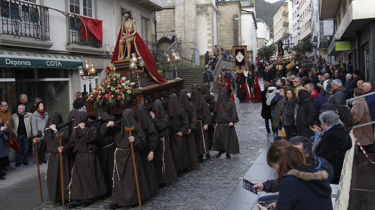 Semana Santa de Viveiro. Procesión del Ecce-Homo.Suspensión de la procesión del Ecce Homo