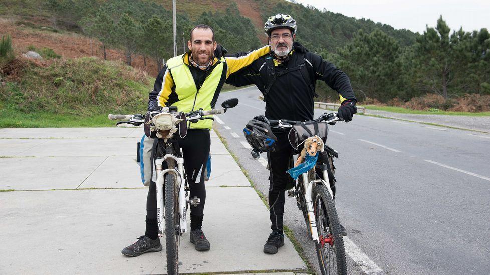 El biciclown asturiano pone fin a su vuelta al mundo.Como los seres humanos, los árboles cuentan su vida por años, y la van registrando en anillos de crecimiento
