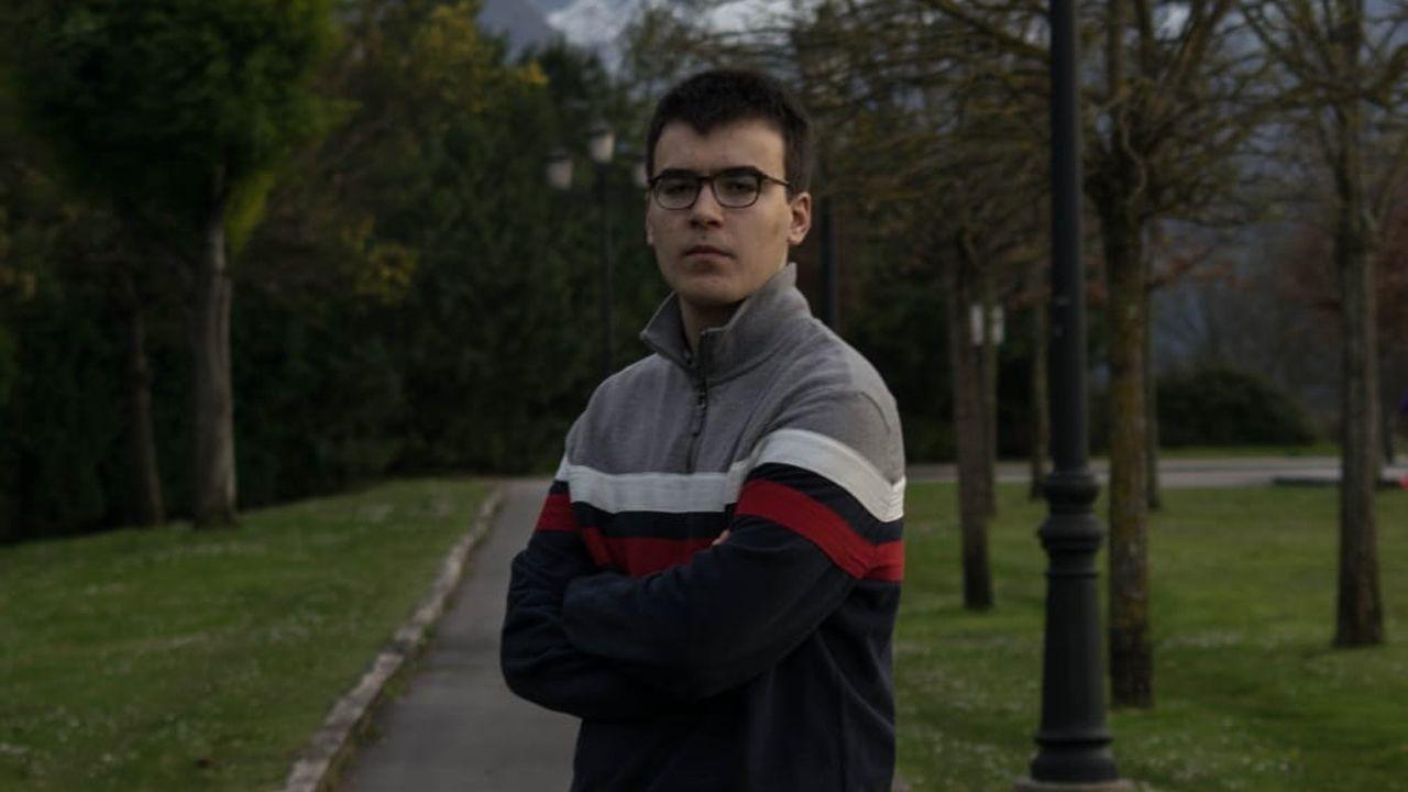 Guillermo Mera Álvarez, del IES Pando, ha obtenido una de las mejores notas de la EBAU 2018 en Asturias