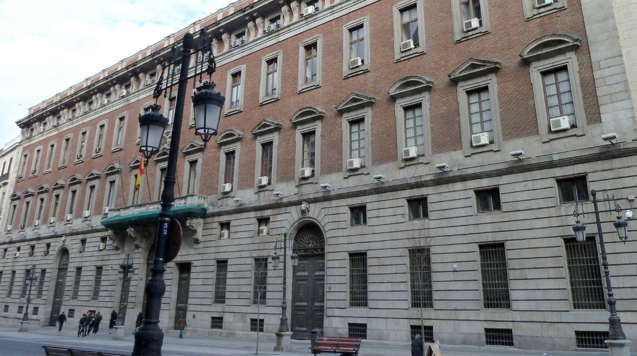 Funcionarios de la Xunta en San Caetano