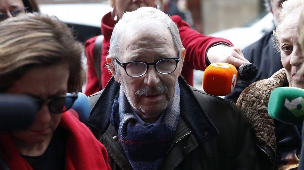 Patrimonio minero-industrial.José Ángel Fernández Villa entra en el juzgado para prestar declaración (archivo)