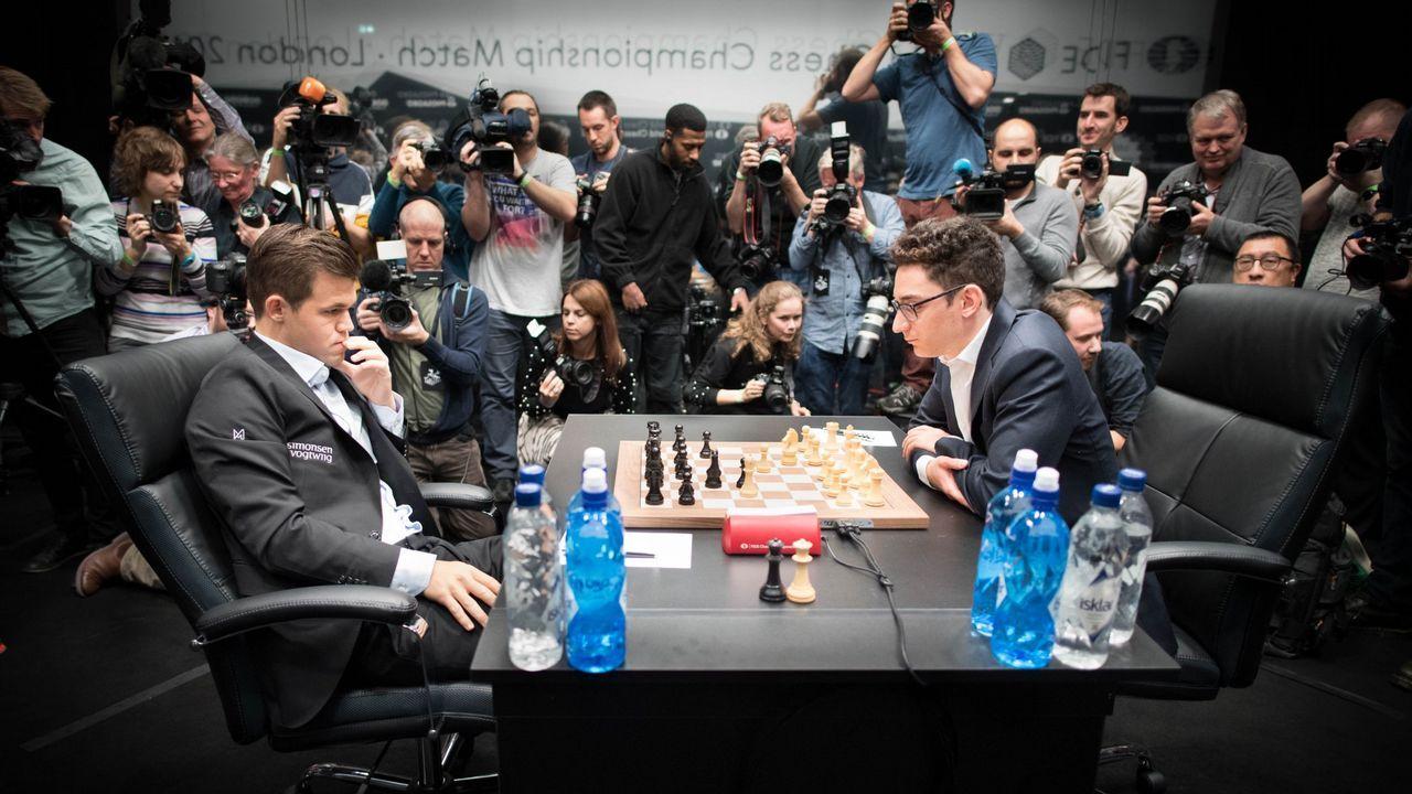 En directo: Carlsen - Caruana,tercer asalto en el Mundial de ajedrez
