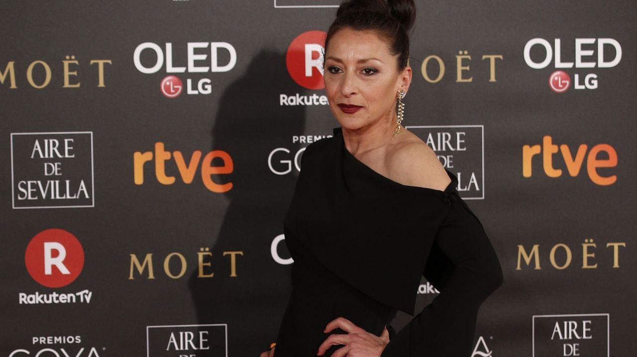 .La actriz Mariola Fuentes