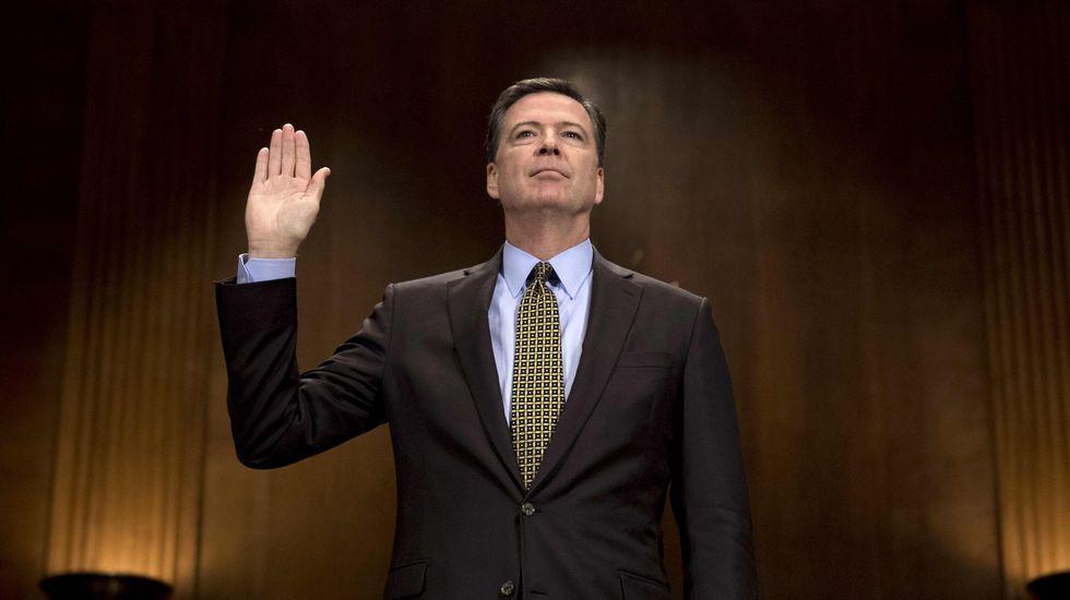 Christopher Wray, nuevo director del FBI.James Comey