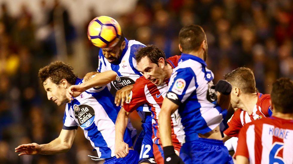 Las mejores fotos del Deportivo-Atlético.