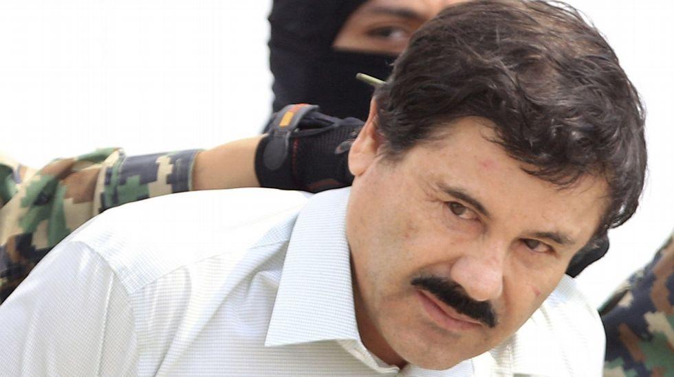 El Chapo, llevado a la cárcel en el 2014