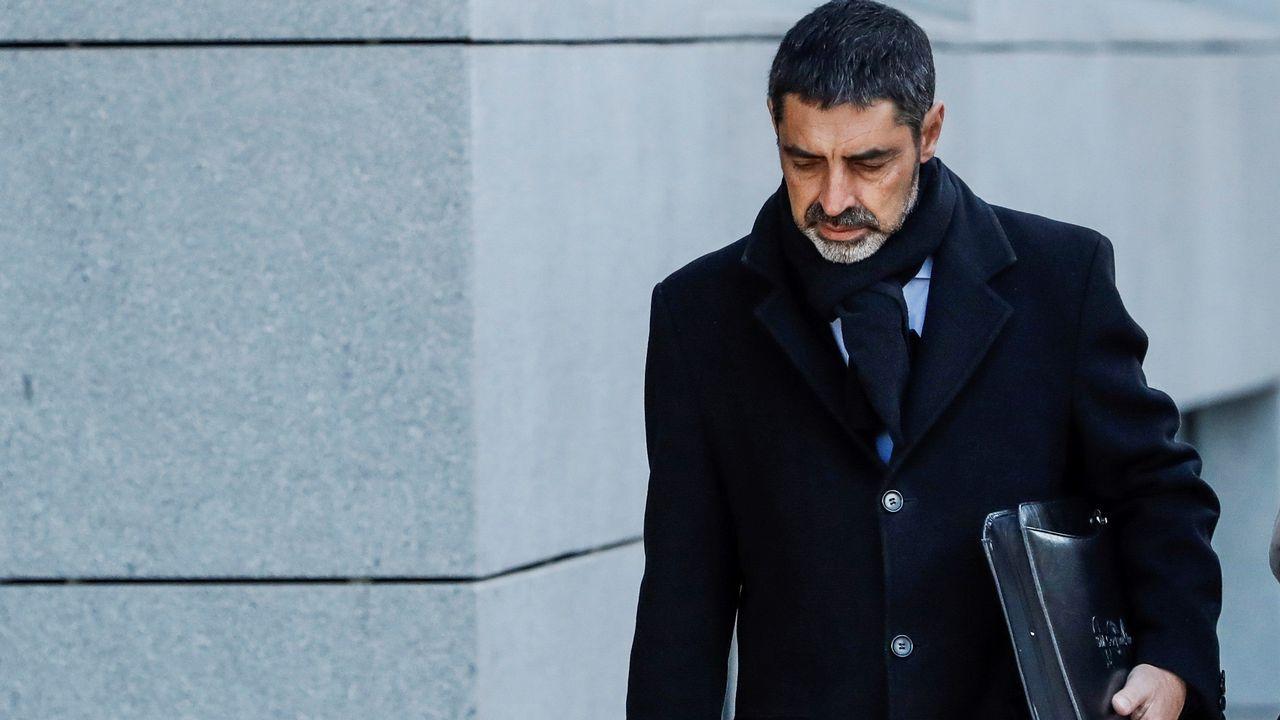 El empresario catalan Gerard Bellalta durante un programa de televisión
