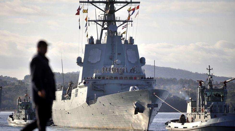 .La F-101 es el buque de mando de la SNMG-1 de la OTAN