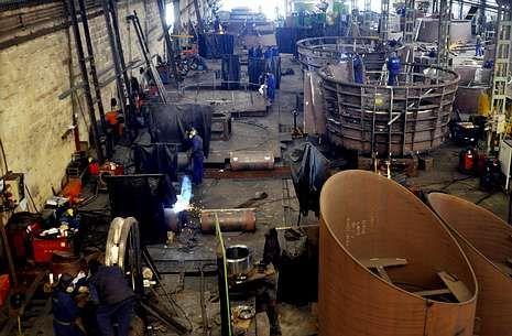 .En el sector del metal se está produciendo una recuperación del empleo.