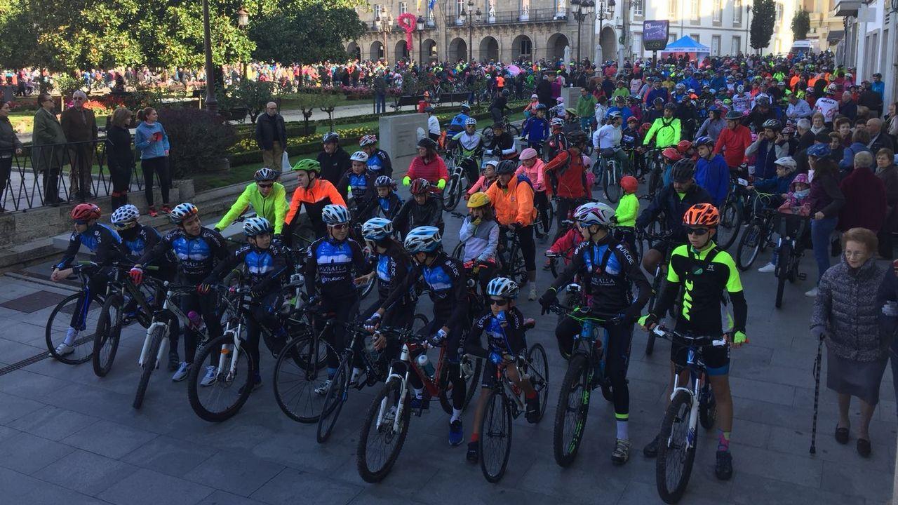 Día de La bicicleta en Lugo