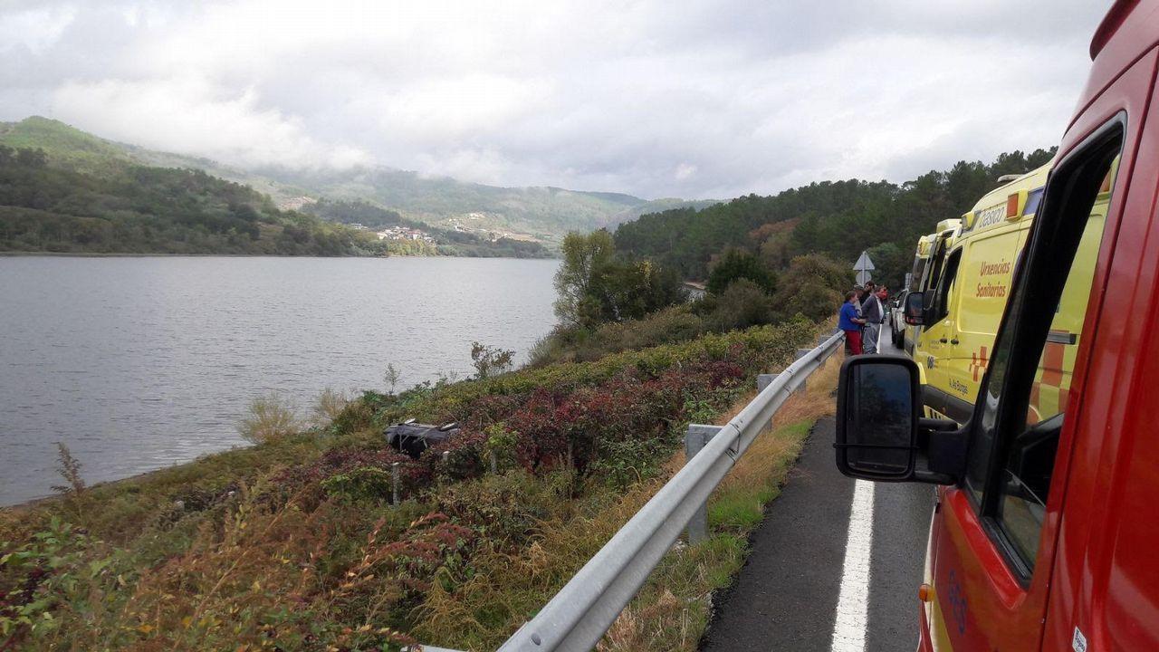 Accidente de tráfico en Castrelo de Miño