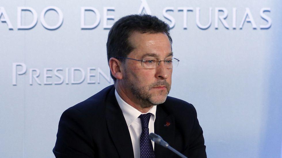 José Agustín Cuervas-Mons (PP).El consejero de Educación y Cultura, Genaro Alonso
