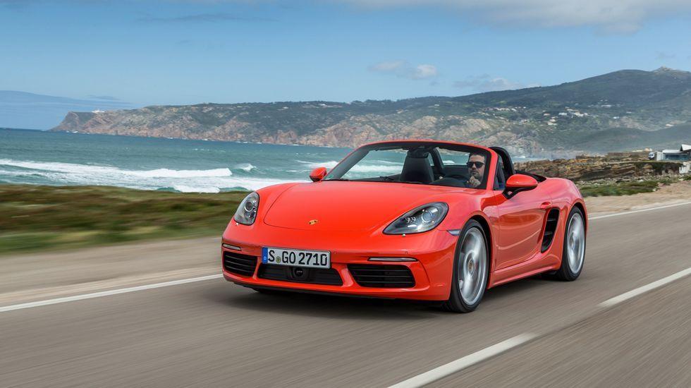 Prueba con nosotros el nuevo Porsche Boxster.