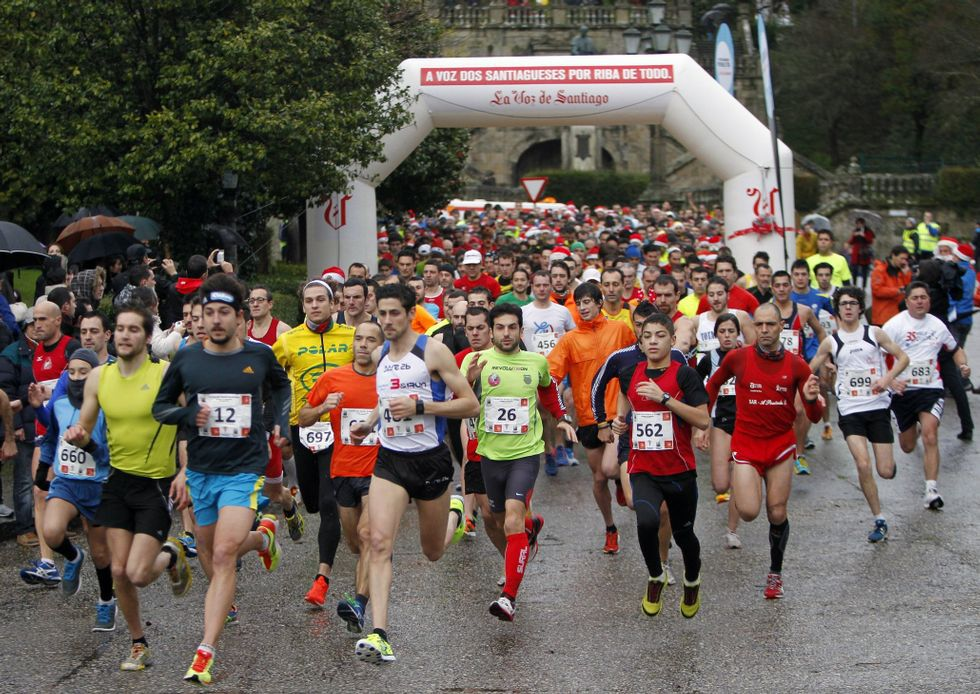 Ya hay mil atletas inscritos en la San Silvestre.