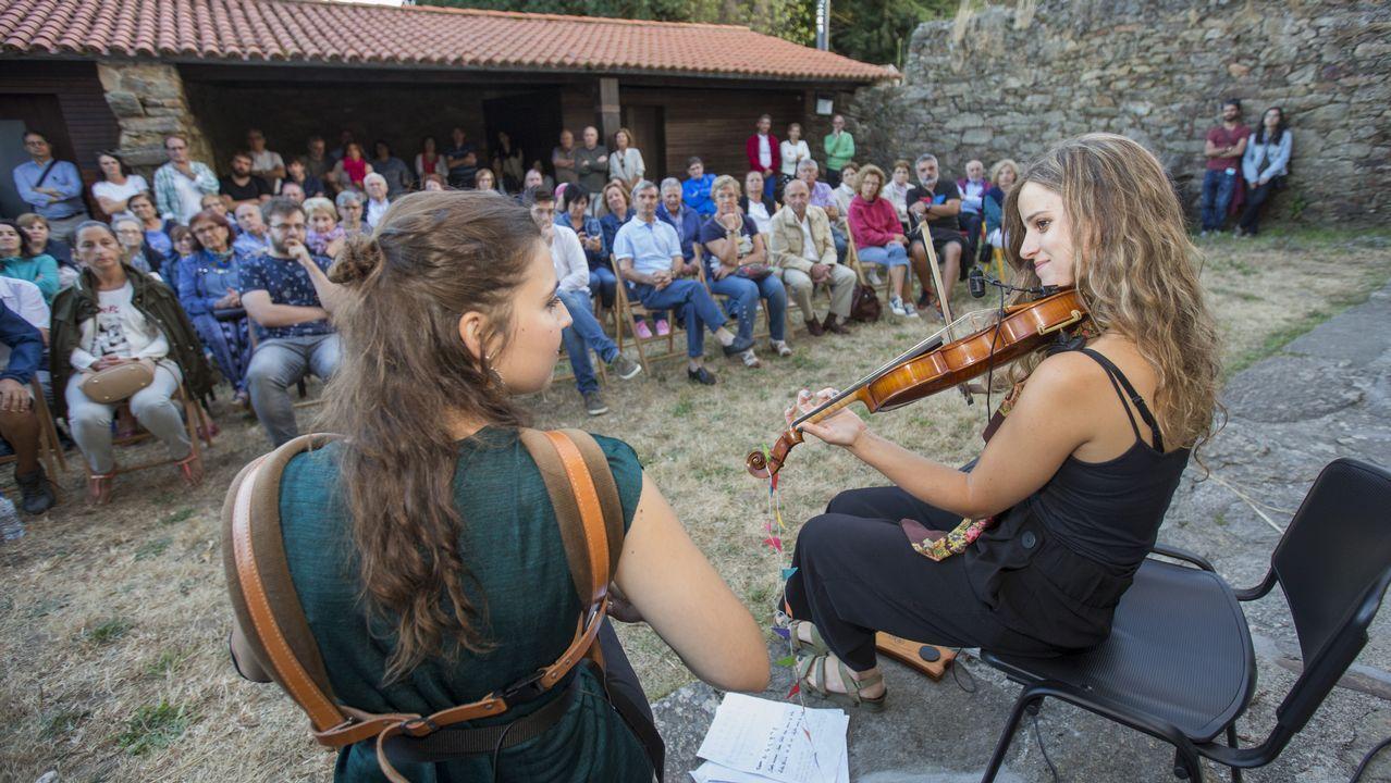 .Duó Caamaño & Ameixeiras, colofón al verano de actividades en las Torres do Allo