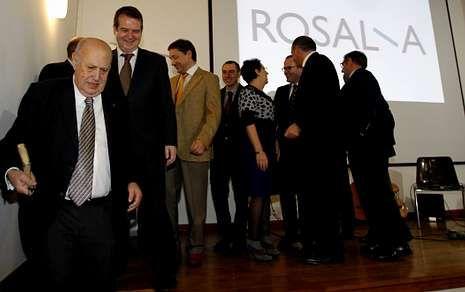 El acto central de la jornada tuvo lugar en la casa de Rosalía, en Padrón.