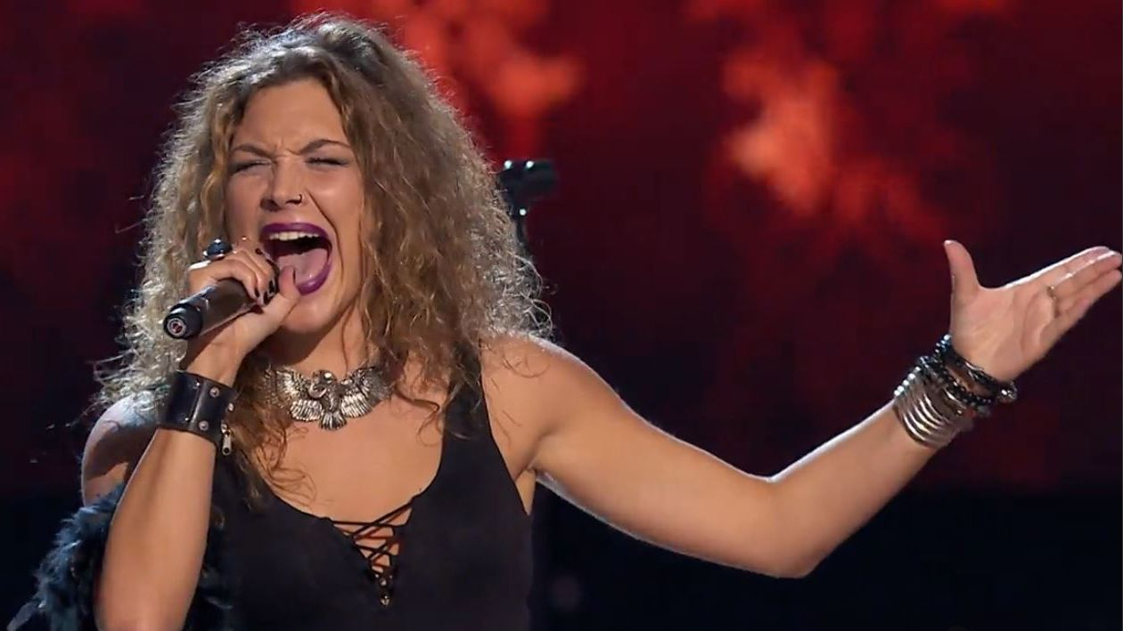 La avilesina Laura González en las audiciones a ciegas de«La Voz».Iggy Pop, en plena actuación durante la última jornada de O Son do Camiño