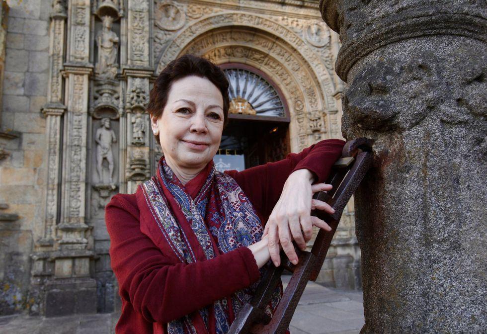 Plano de la ciudad de Vetusta elaborado por la editorial gijonesa Aventuras Literarias.Jornet destacó que todos los premiados quedaron impresionados en su visita a Santiago.
