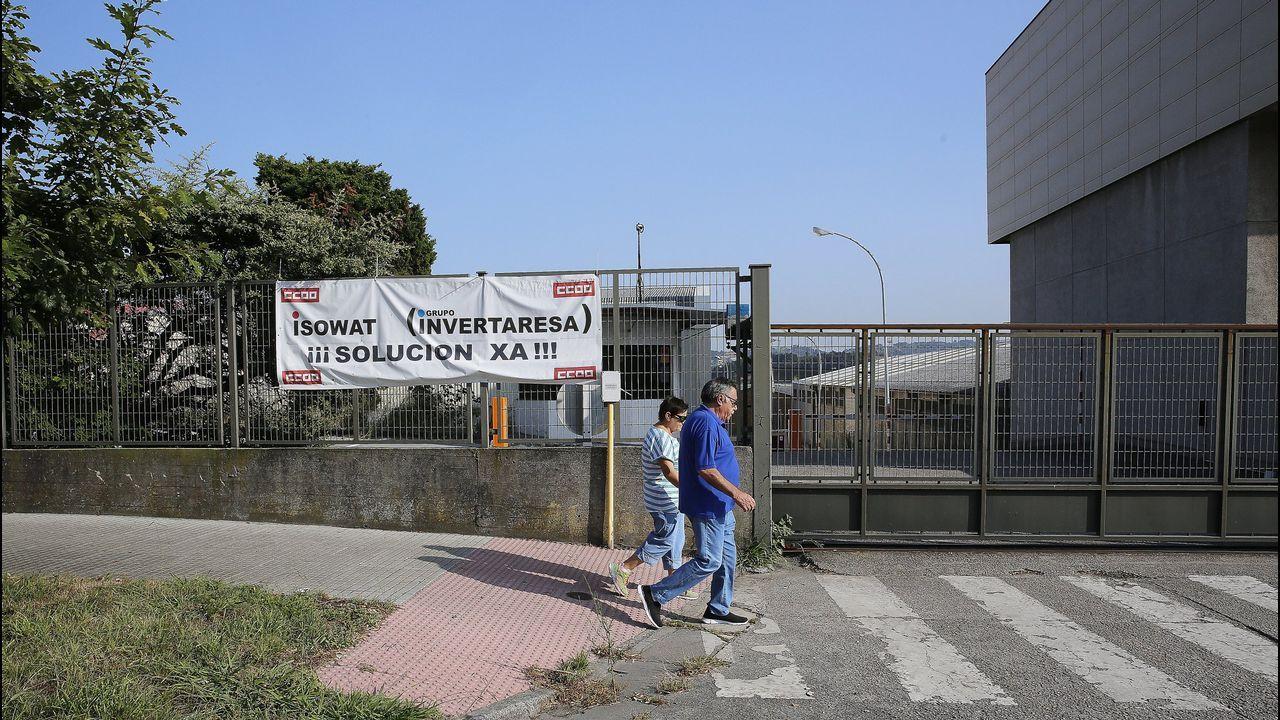 Instalaciones del grupo Invertaresa en el polígono coruñés de A Grela