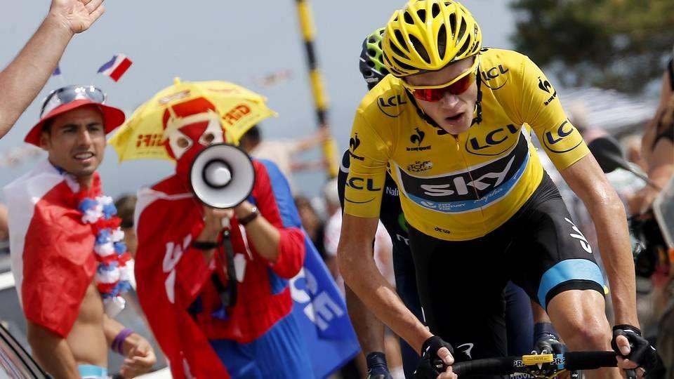 Espectacular subida al Mont Ventoux.Purito ganó la contrarreloj entre Cambados y Pontevedra de la pasada edición de la Vuelta.