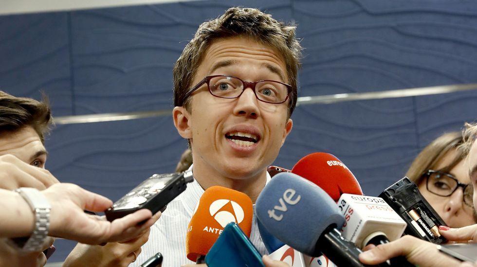 Errejón cree que «el encaje» de Podemos con En Marea es una cuestión técnica.Alberto Garzón