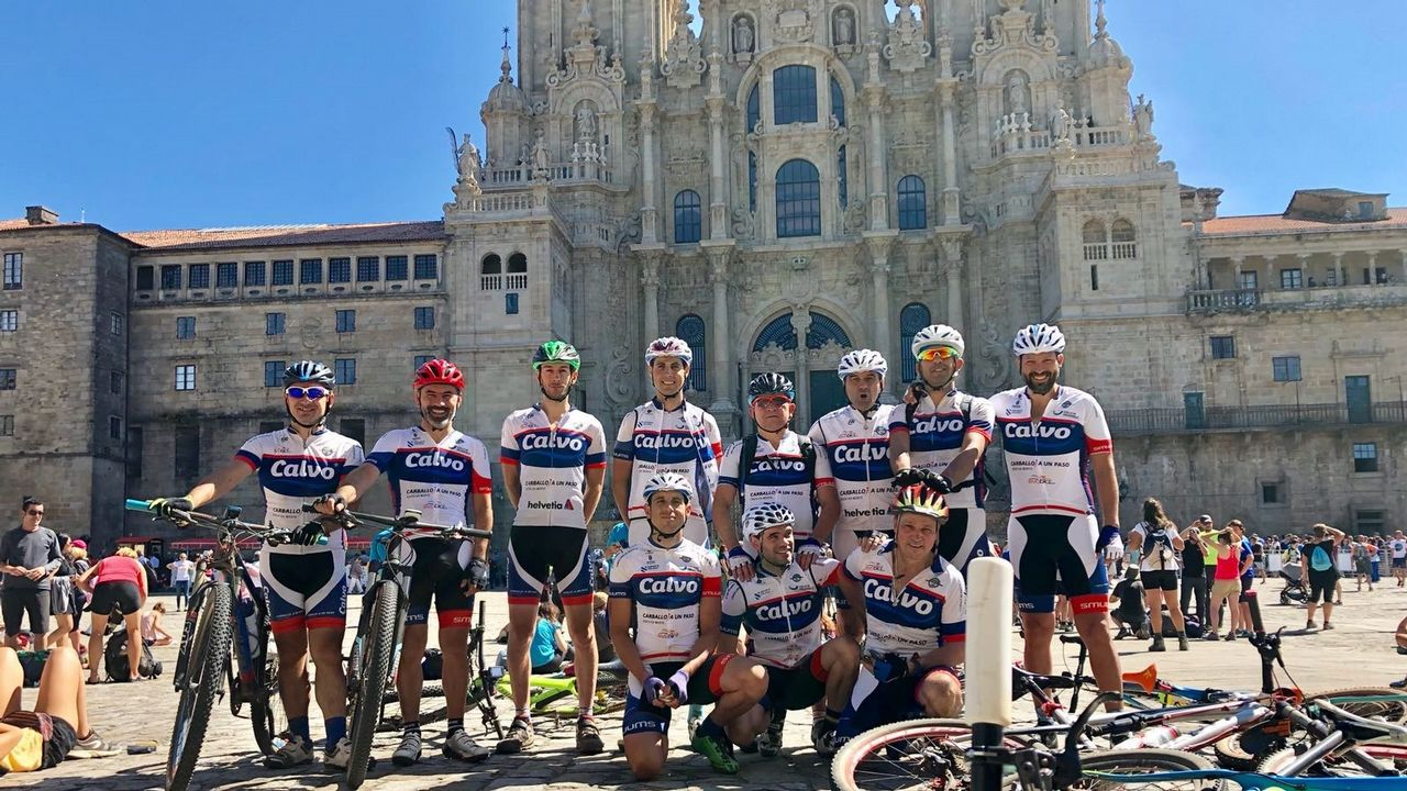 #RetoChagas 2018. Chema Martínez y el equipo completaron los 790 kilómetros desde Madrid hasta Oviedo