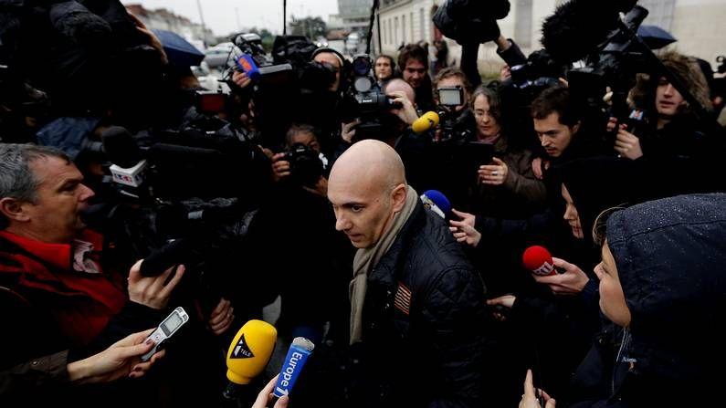 El abogado de Dieudonné a la salida del juzgado de Nantes