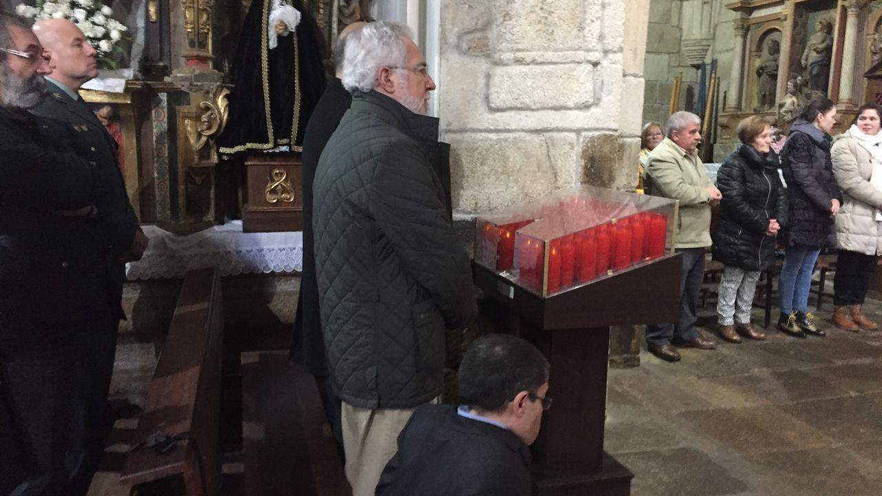 Manuel López Casas, nuevo alcalde de Xinzo.El vendedor pedía 3.000 euros por el abrigo
