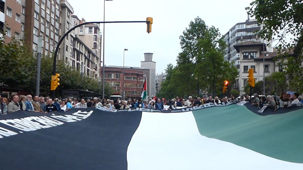 Un momento de la manifestación multitudinaria