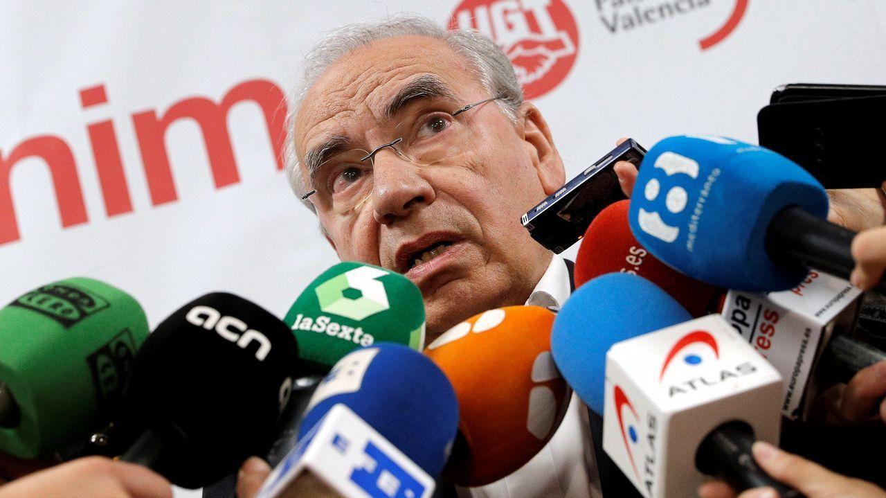 Forcadell acata las órdenes de Rajoy.Alfonso Guerra