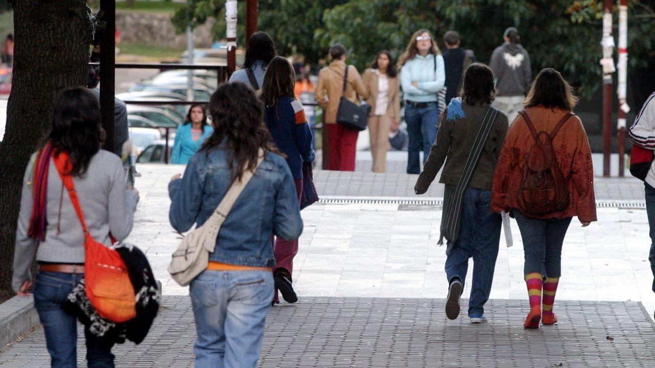 La ministra de Industria y Turismo, de paseo por Vigo.Chuny Bermúdez de Castro, en una imagen de archivo