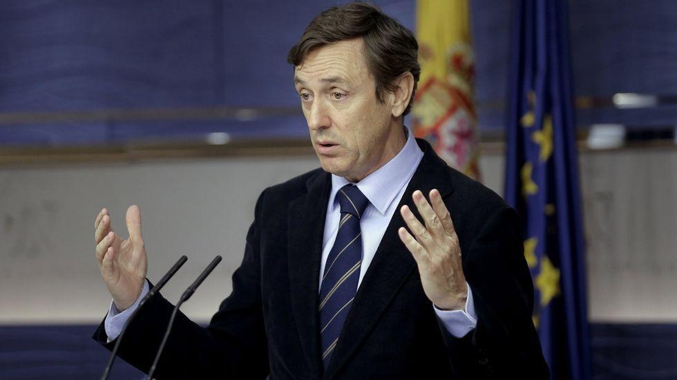 El PP dice ahora que echó a Barberá para evitar un «linchamiento» de las «hienas».Vicente Álvarez Areces