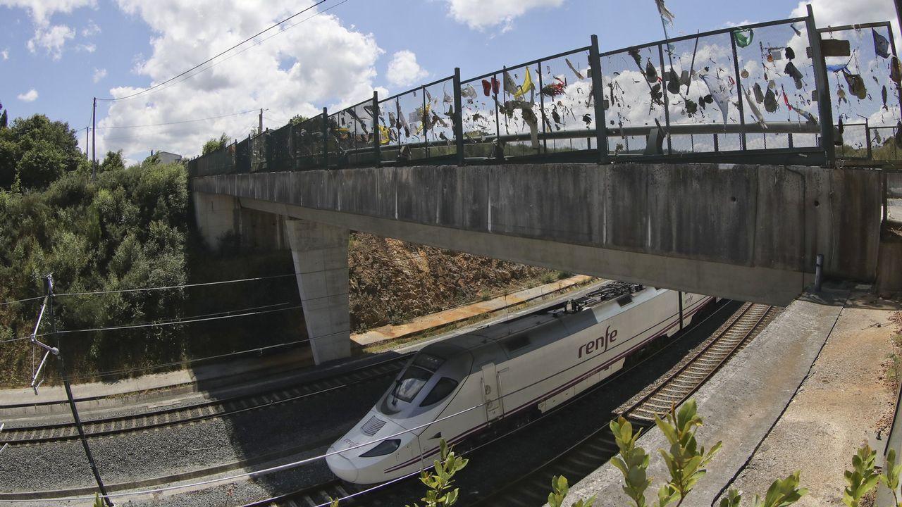 El plan de ADIF. La recreación enviada por el ente estatal al Ayuntamiento incluye la construcción de nuevas marquesinas en la avenida del Ferrocarril, para facilitar el acceso a buses urbanos, coches y taxis, y la ampliación de la cubierta sobre los andenes de las vías férreas en la parte posterior de la estación.