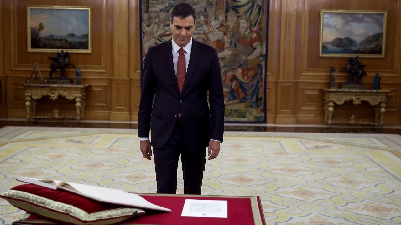 Felipe VI y el nuevo ministro de Deportes despiden a la selección.Cárcel de Brieva, en Ávila