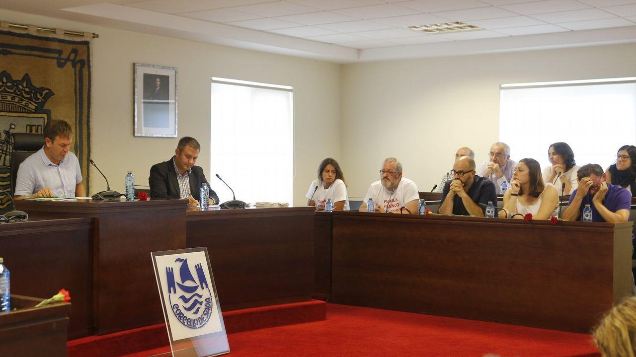 Juicio al colectivo 19 de Meirás en Betanzos