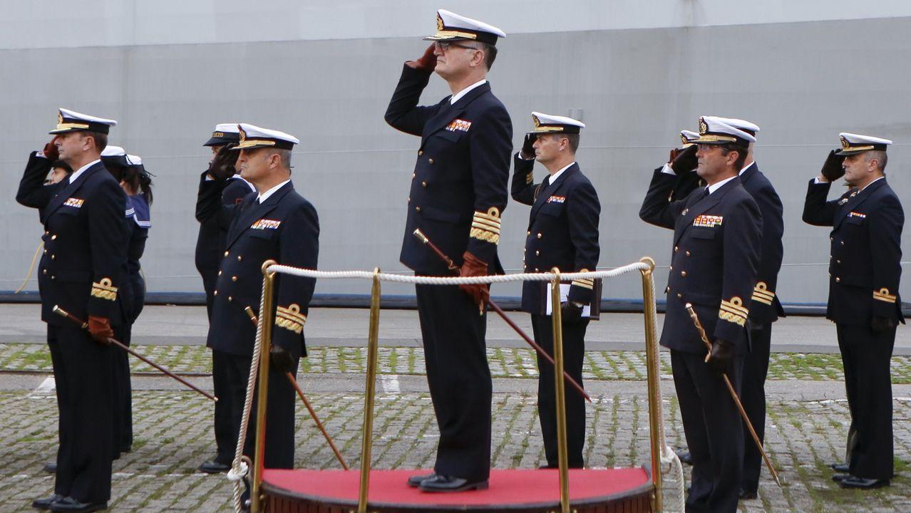 La Armada presume en Vigo de sus misiones en el extranjero