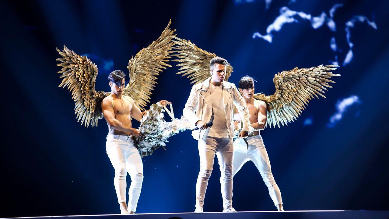 Uno de los ensayos de Eurovisión 2019