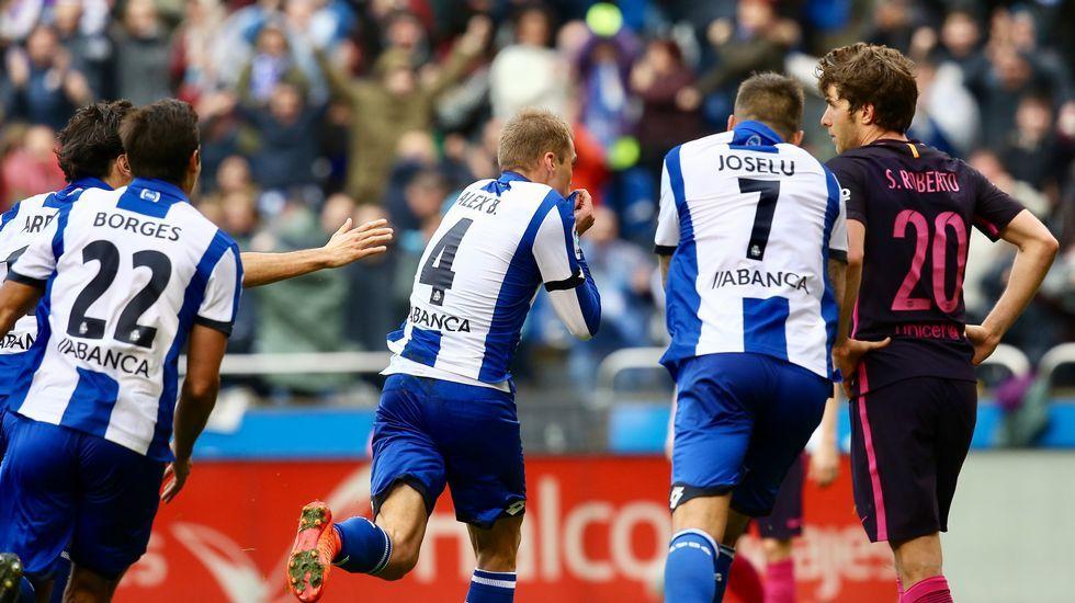 Las mejores fotos del Deportivo-Barcelona.