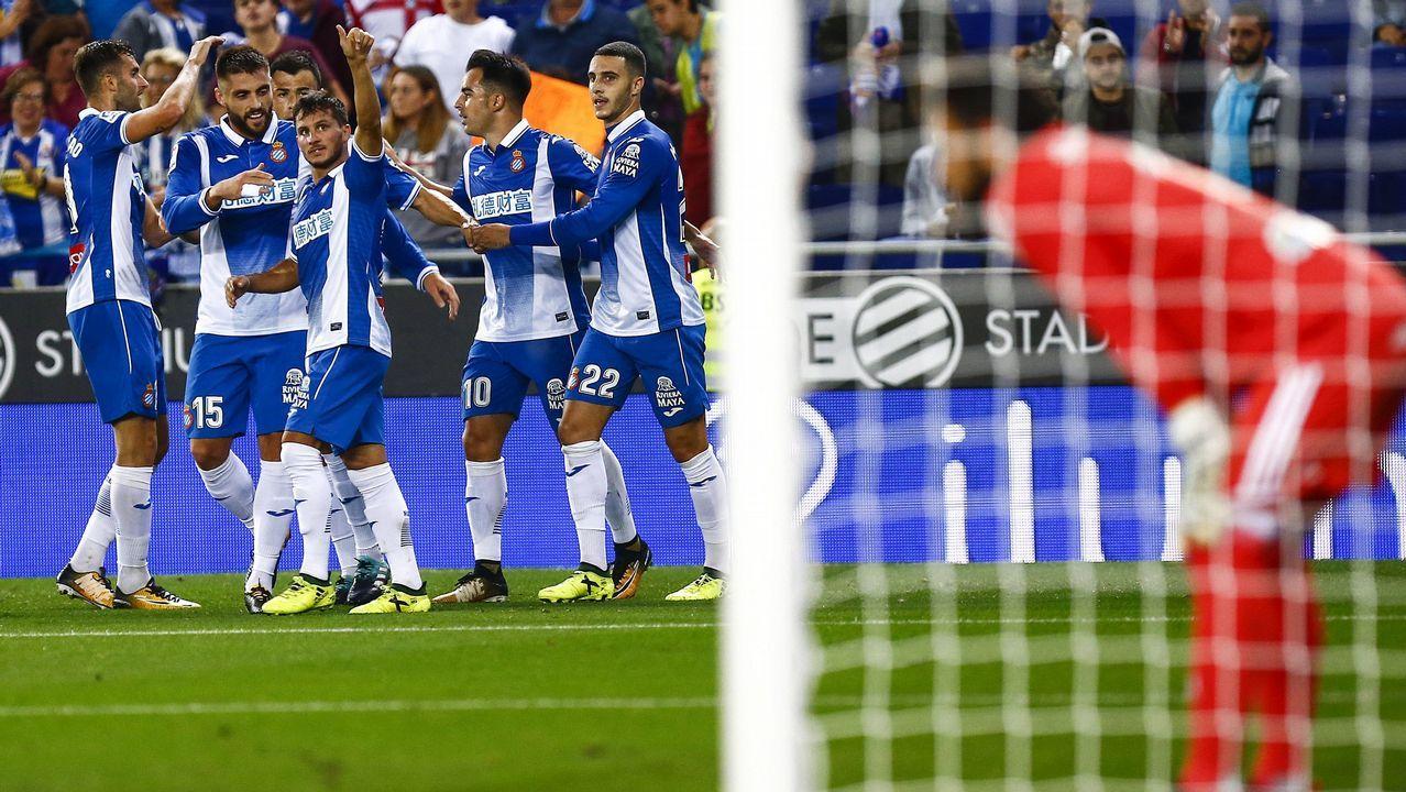 Las mejores imágenes del Espanyol - Celta.