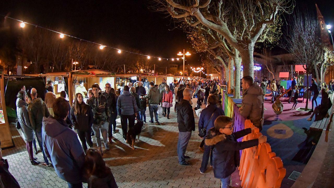 Iluminación de Navidad en Lugo