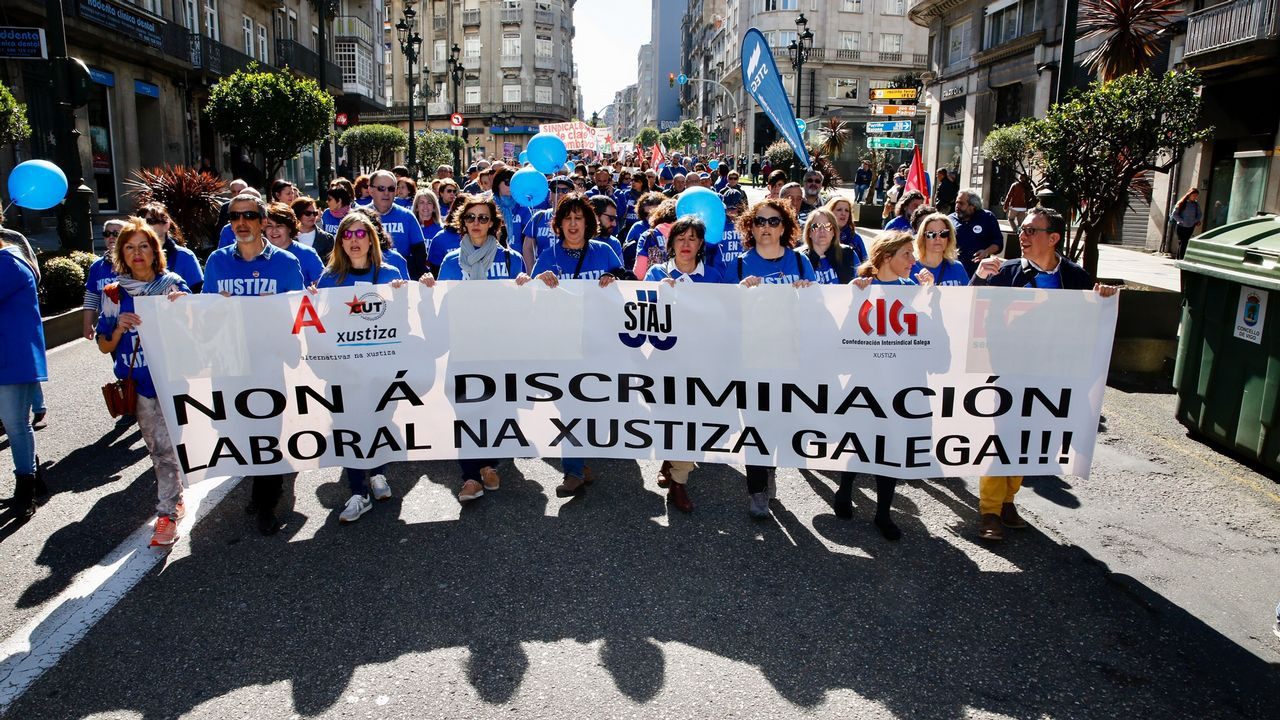 Manifestación del 1 de mayo en Vigo