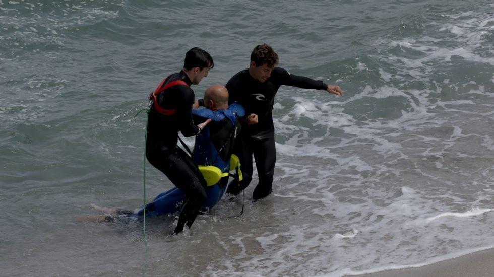 Simulacro de rescate en A Coruña
