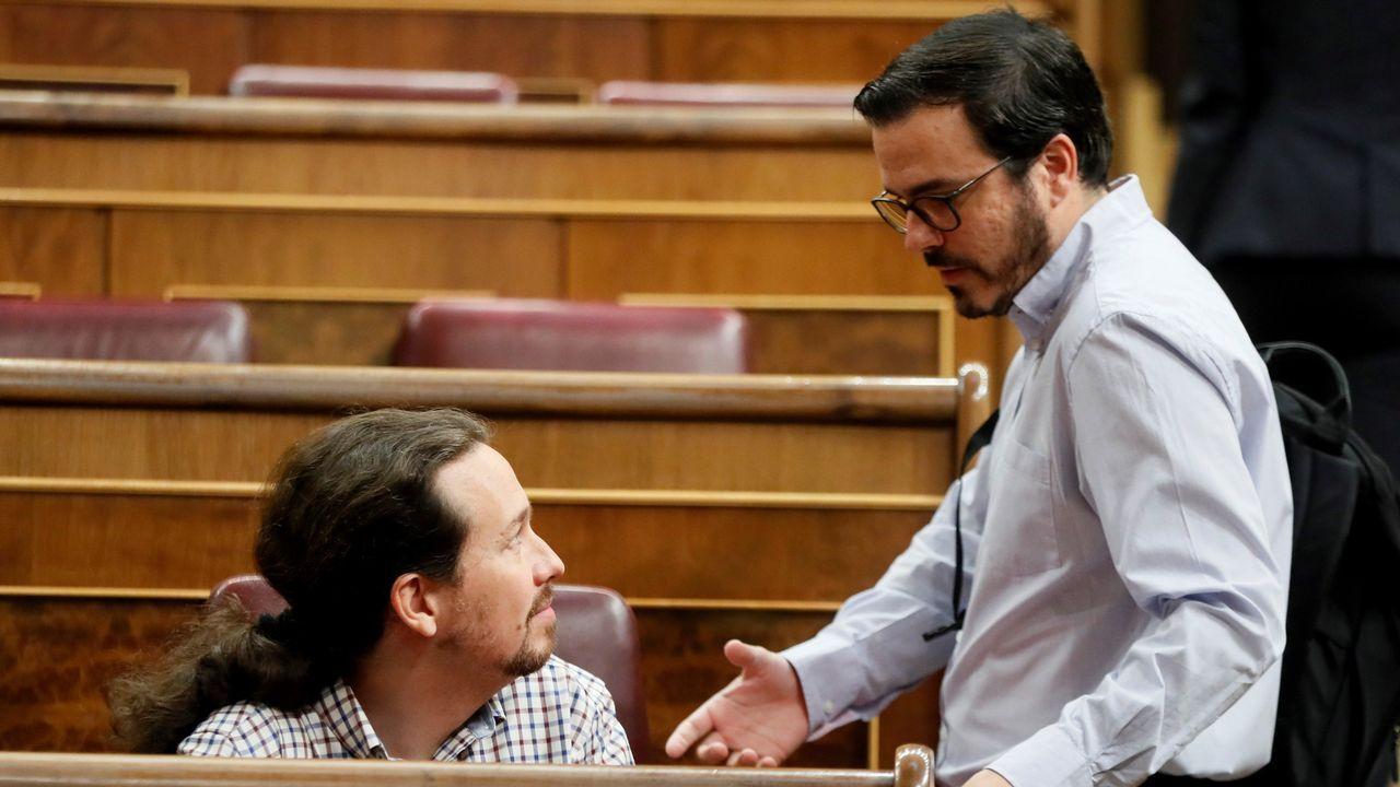 Isidro Martínez Oblanca.Ramón Argüelles y Alberto Garzón