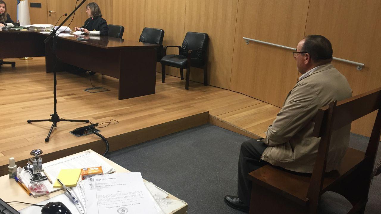En directo y en streaming, el juicio del procés.El obus hallado en Grado