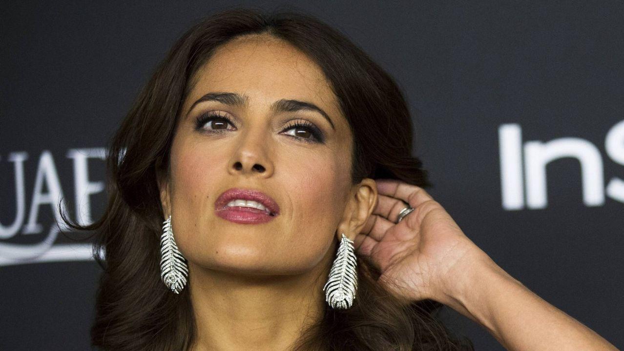 Salma Hayek: «Weinstein aseguró que me rompería las rodillas»