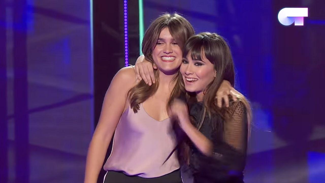 Amaia canta «Miedo» en la final de «OT 2017».