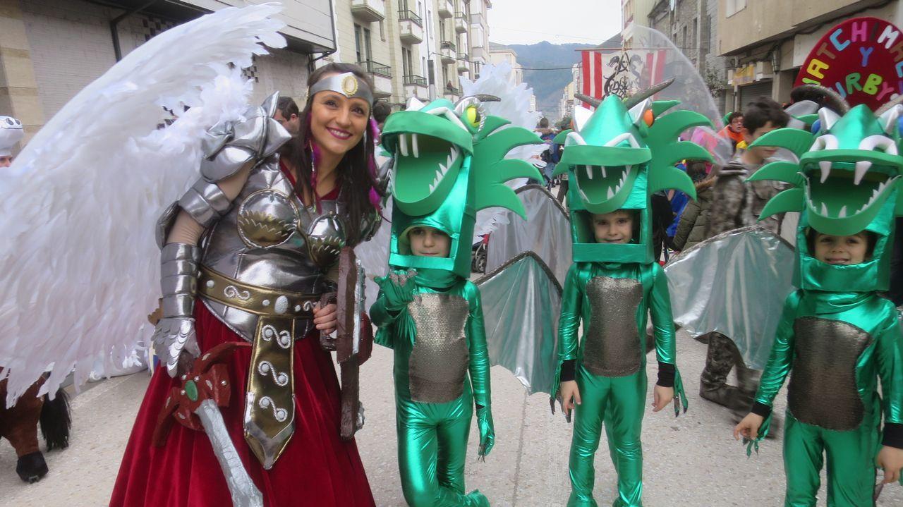 Los disfraces del desfile de Quiroga