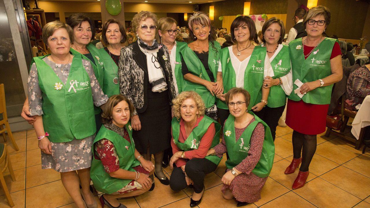 Gran respaldo a la comida de la asociación de pensionistas de Sofán